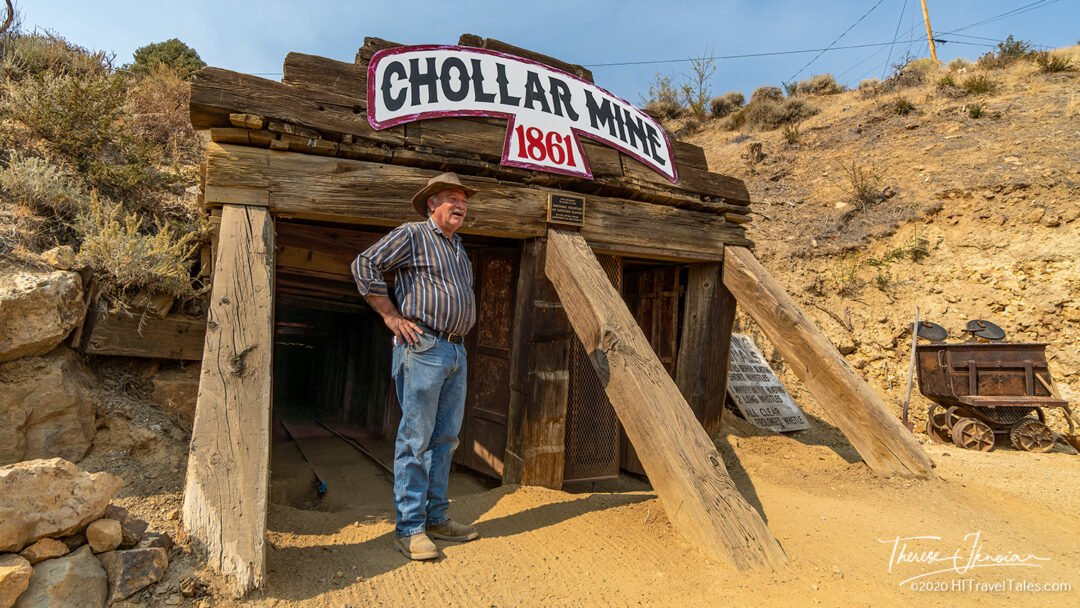Chollar Mine Virginia City