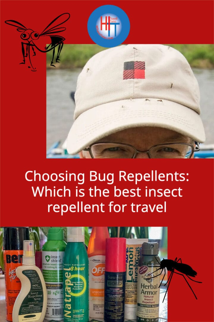 Choosing Bug Repellents Which Is The Best Insect Repellent For Travel