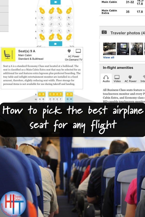 Choosing The Best Airline Seat
