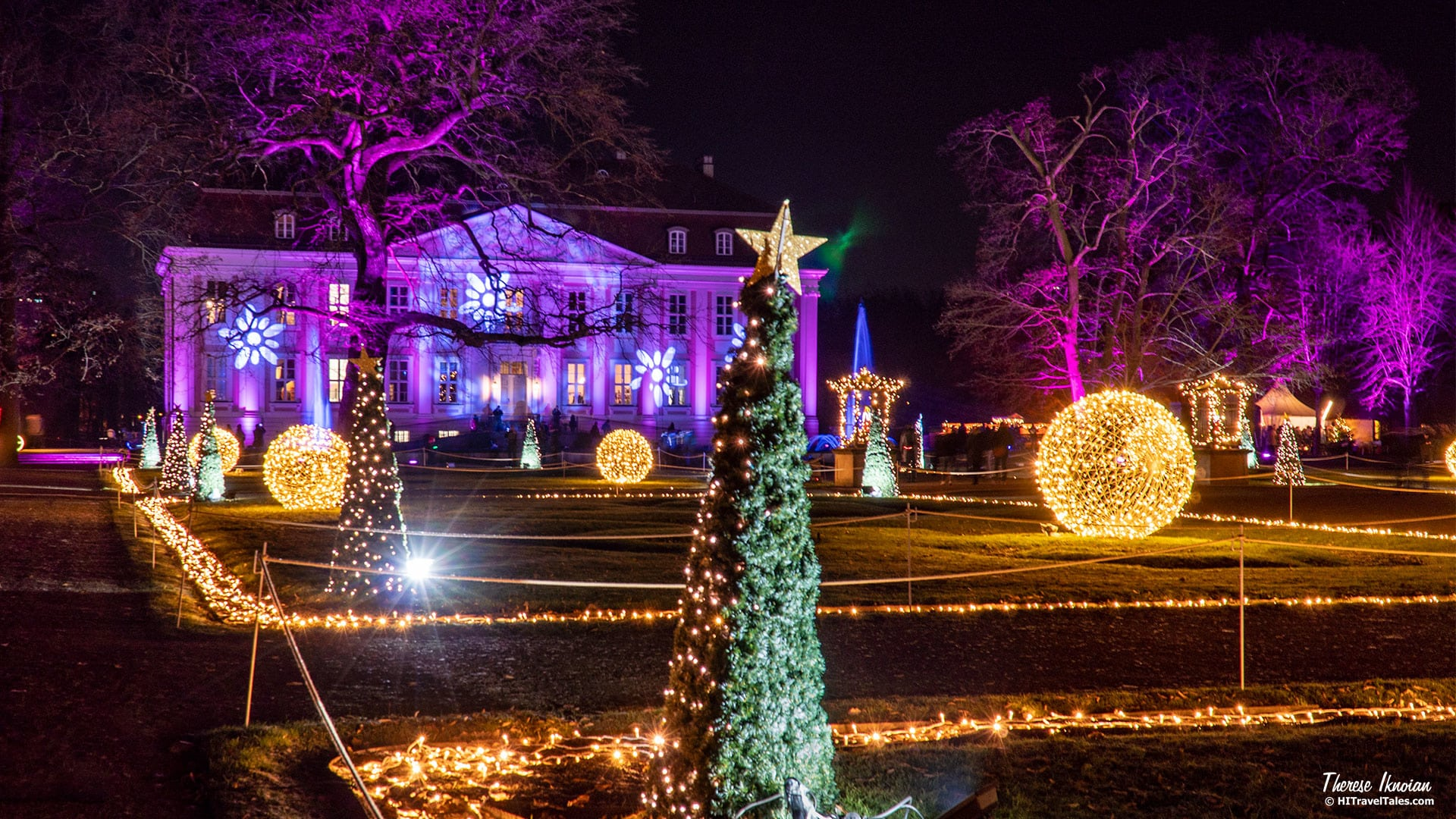 While we can't promise falling snow, Christmas at the Tierpark (also known as Christmas at the Zoo and