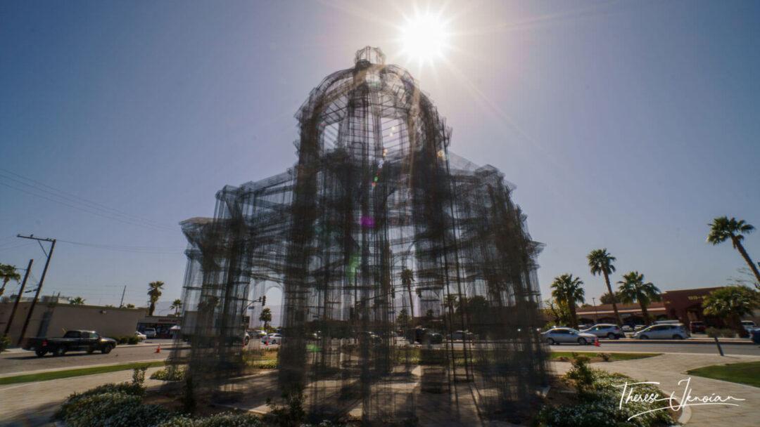 Coachella Outdoor Art Etherea