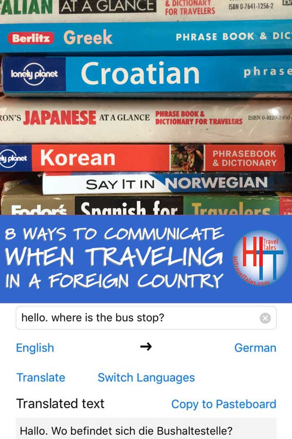 Communicate When Traveling In Foreign Country