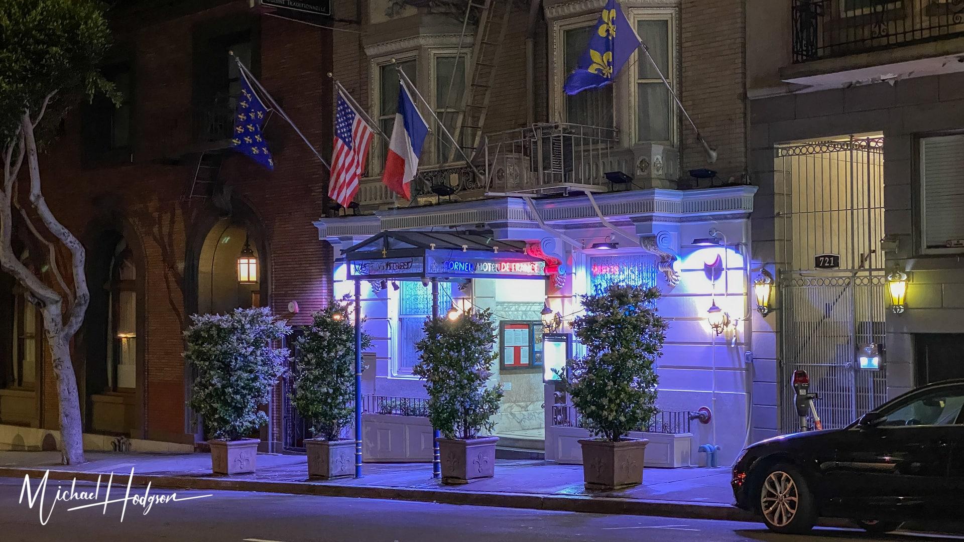 Cornell Hotel De France On Nob Hill
