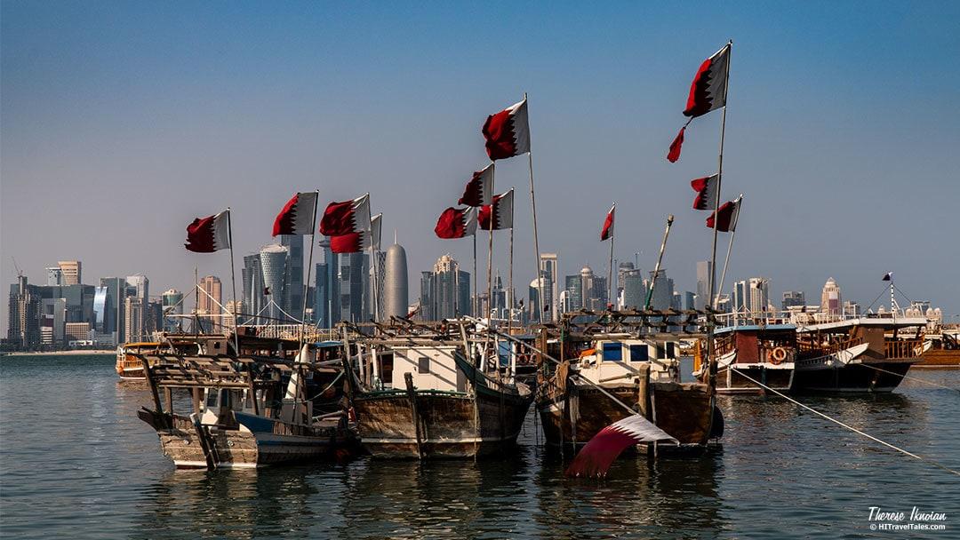 Corniche Dhow Boats