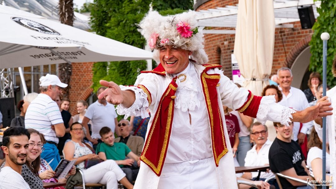 Court Jester Performer Botanical Nights