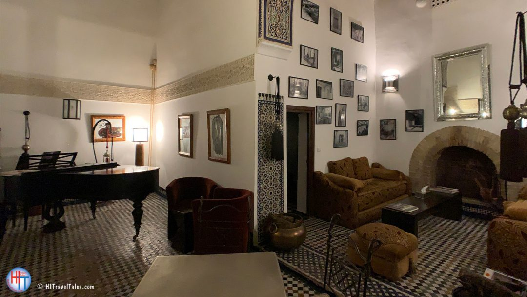 Cozy Living Room Riad Laaroussa