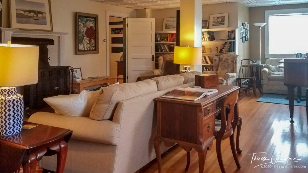 Craignair Inn Mid Coast Maine Living Room