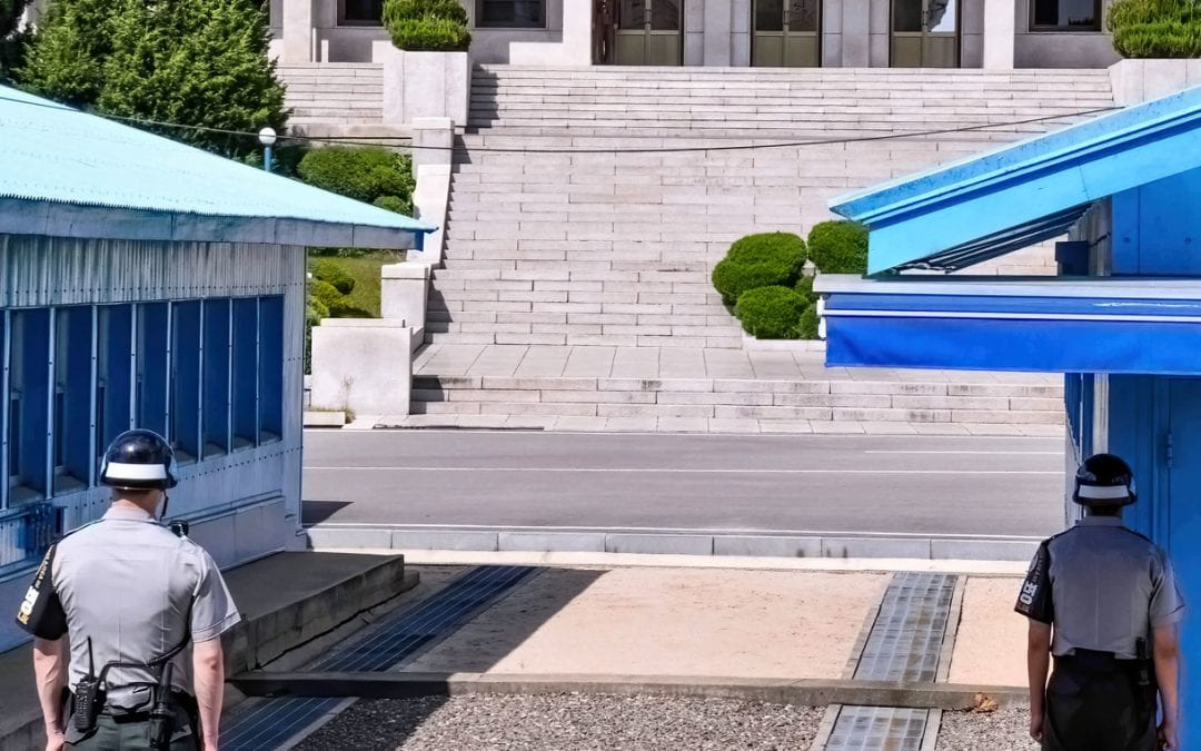 DMZ tour Korea: Wear shoes you can run in