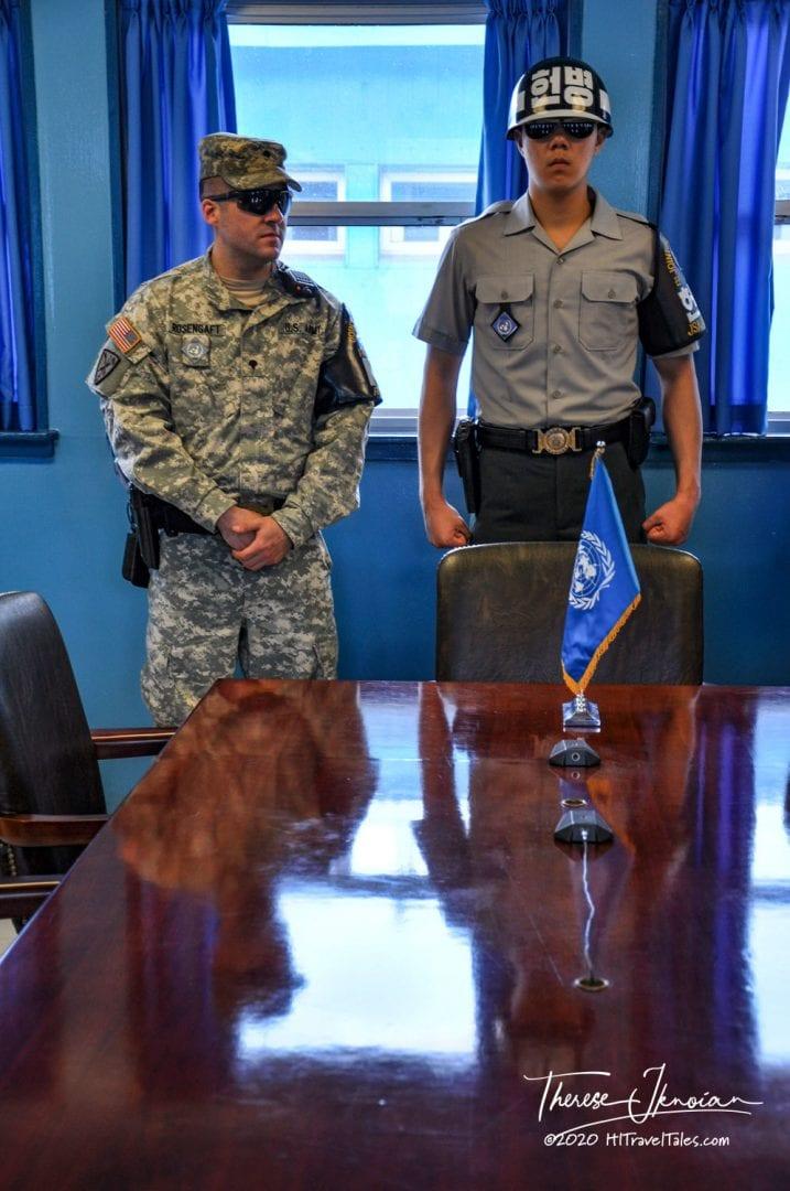DMZ Tour Korea Negotiation Table Panmunjom