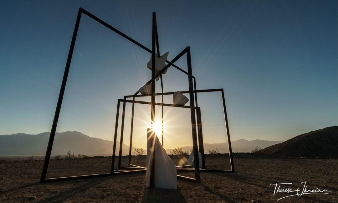 Desert X Parapivot Outdoor Art Palm Springs