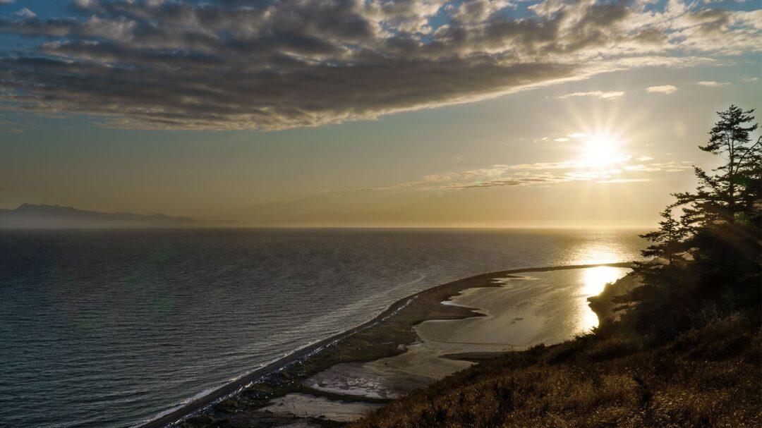 Ebeys Landing Sunset Whidbey