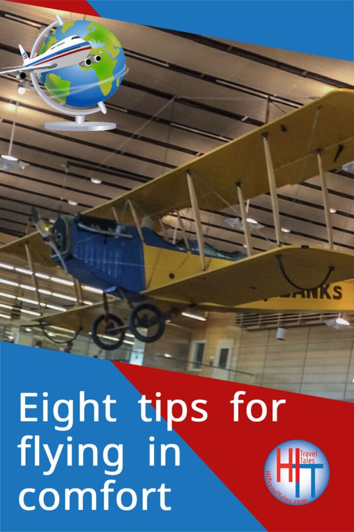 Eight Tips For Flying In Comfort