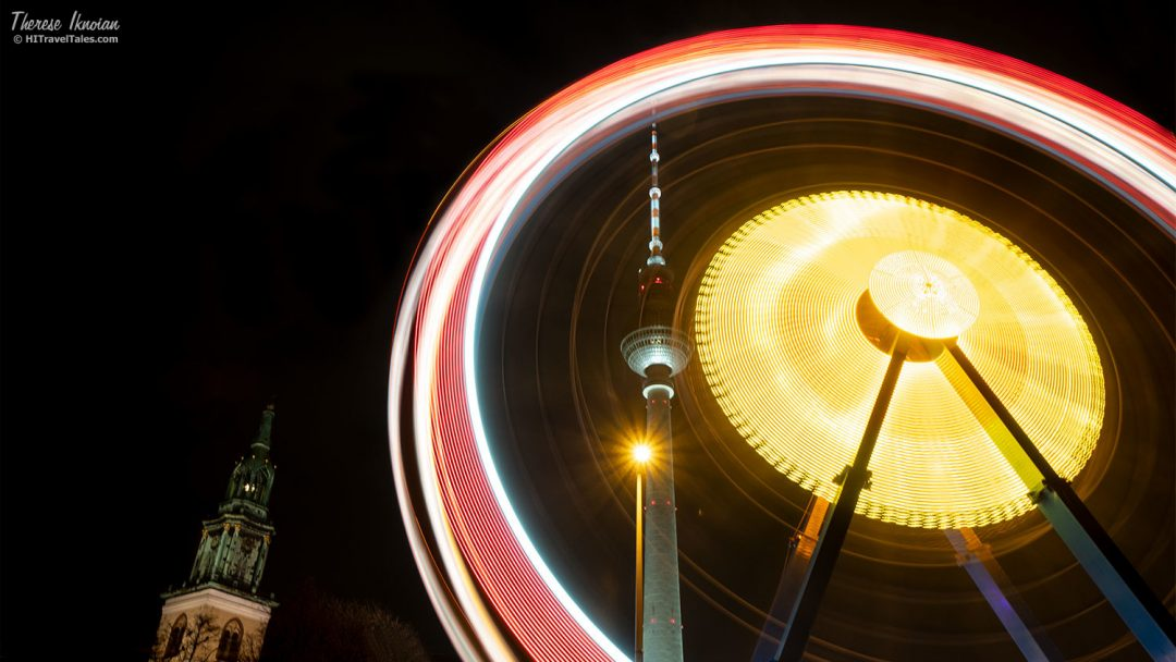Ferris Wheel in Berlin during Christmas Market