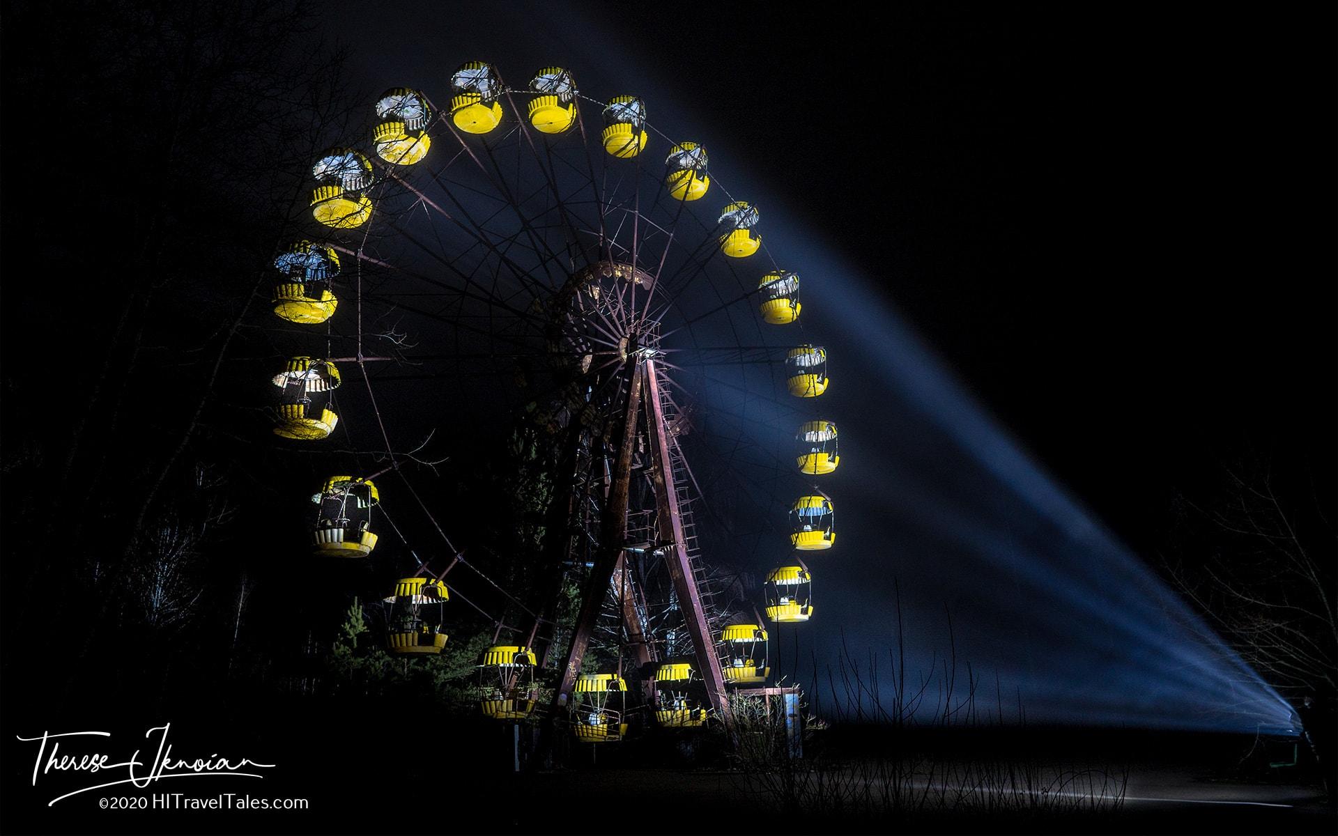 Ferris Wheel Chernobyl Nuclear Zone