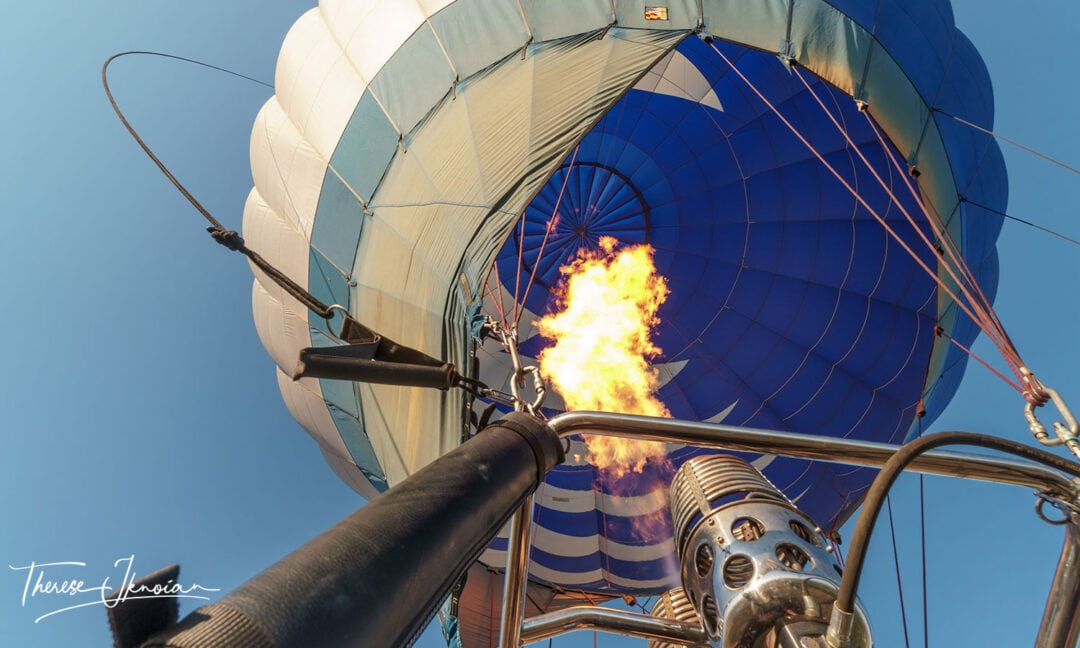 Flames Underway Yolo Balloon
