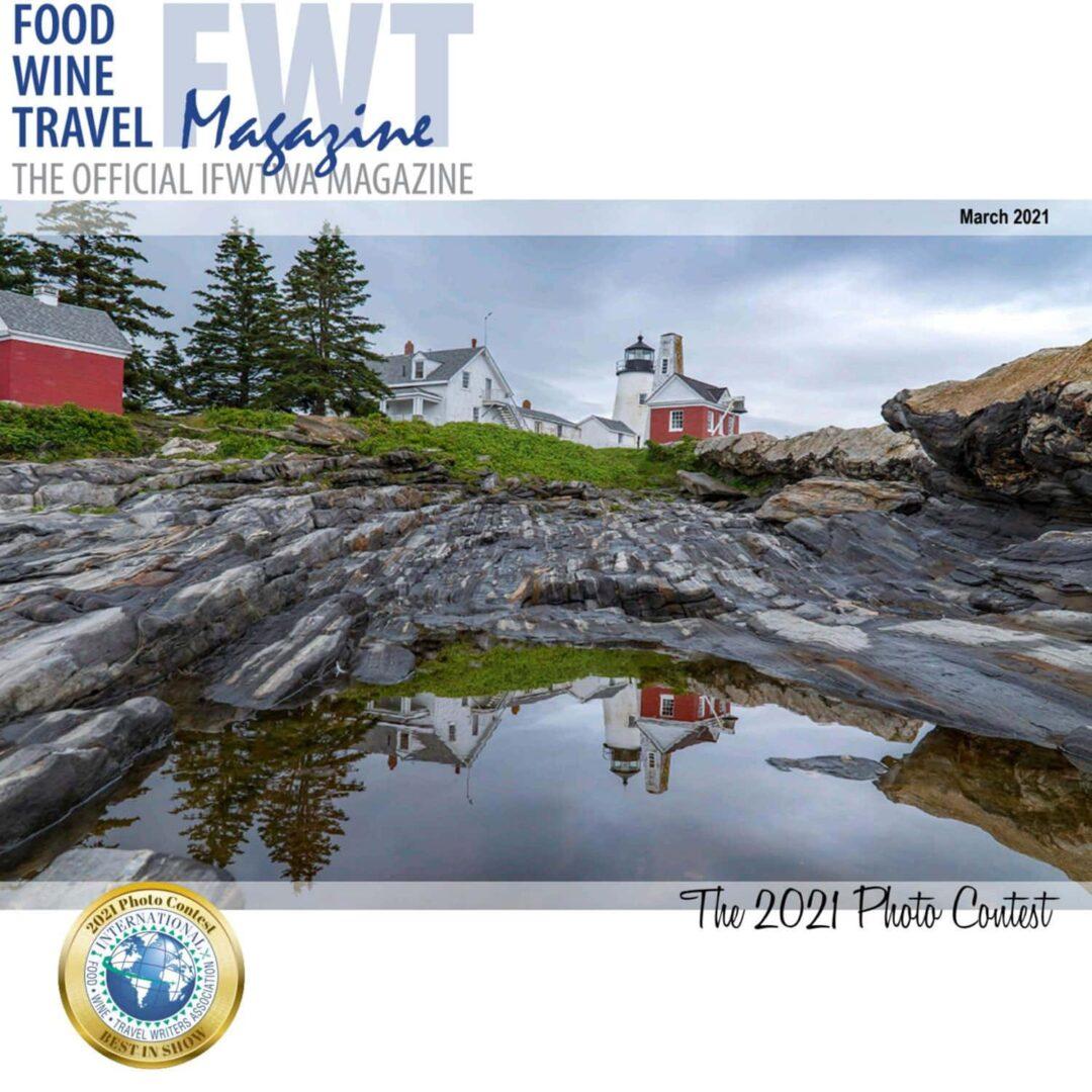 Food Wine Travel Magazine 2021 Photo Contest Cover