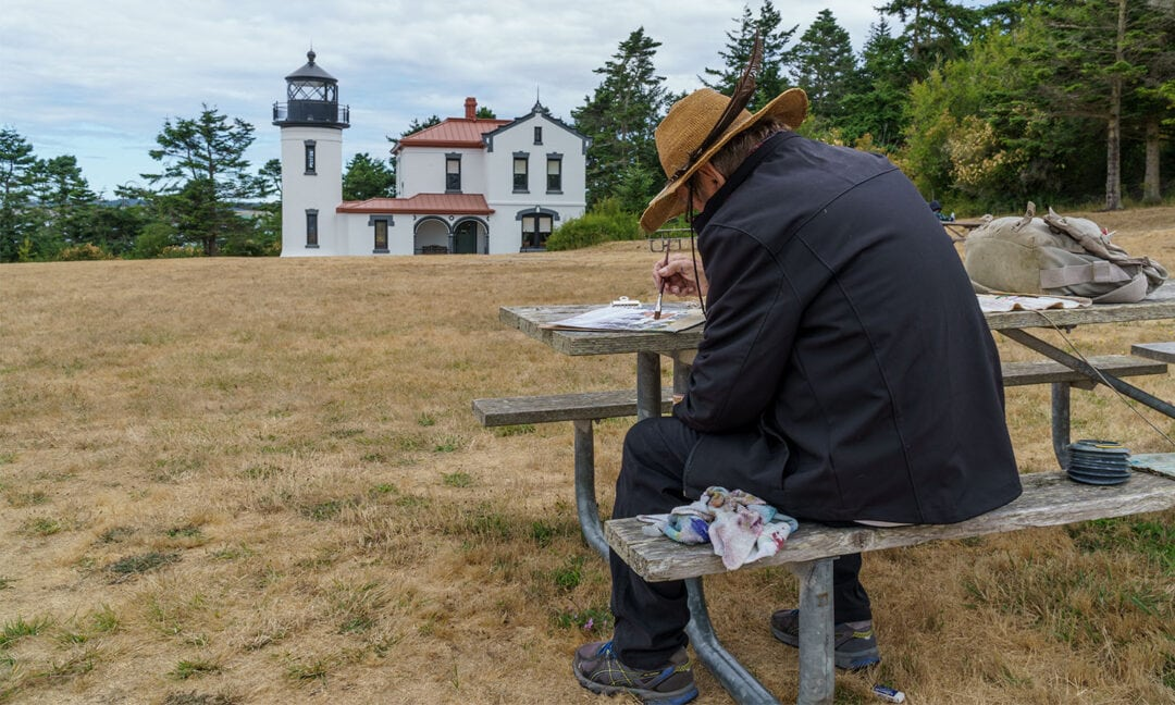 Fort Casey Lighthouse Painter