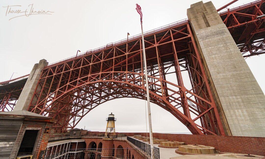 Fort Point Presidio SF GG Bridge