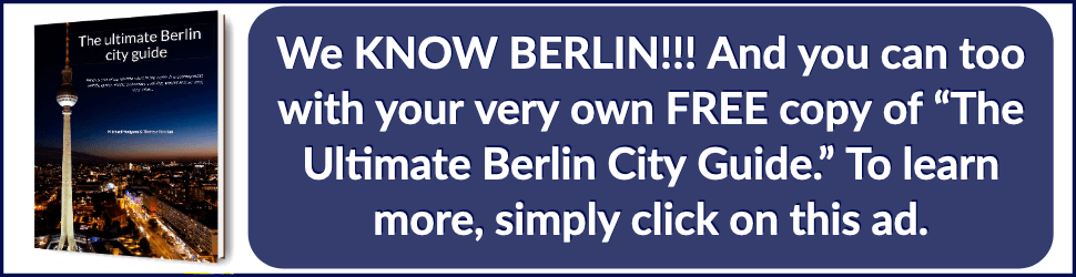 Free Berlin Guide Ad By