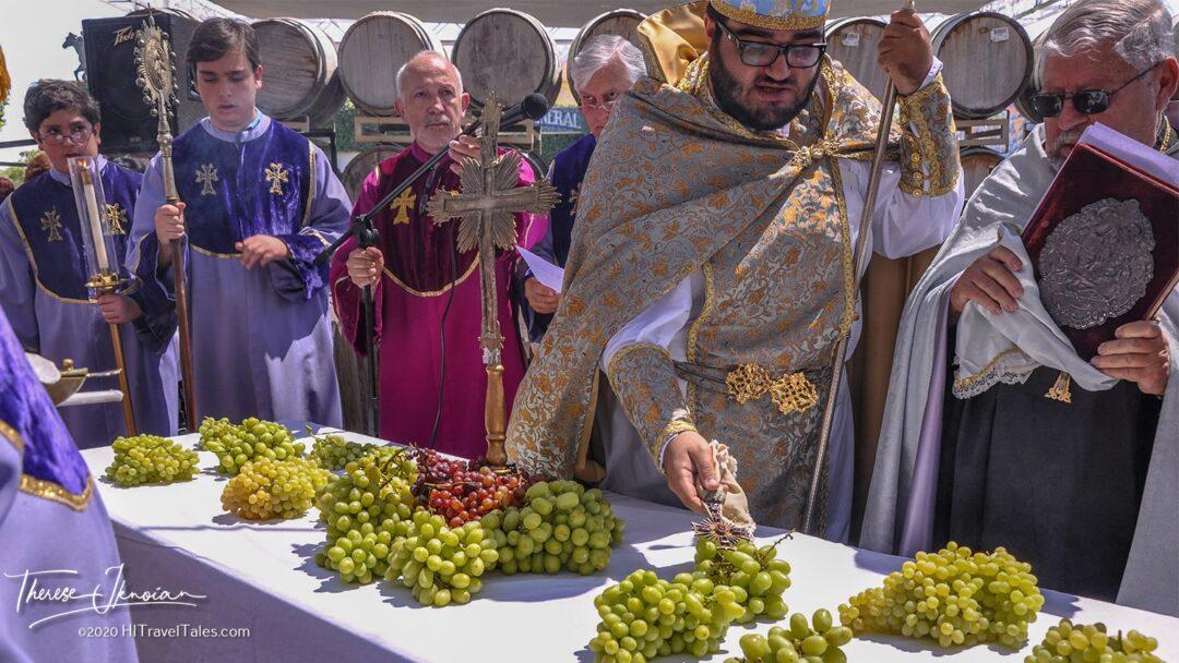 Fresno Armenian Grape Blessing