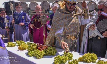 Annual blessing of the grapes celebrated globally in Armenian churches