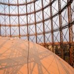 Climb the Berlin gasometer for the best sunset views of Berlin