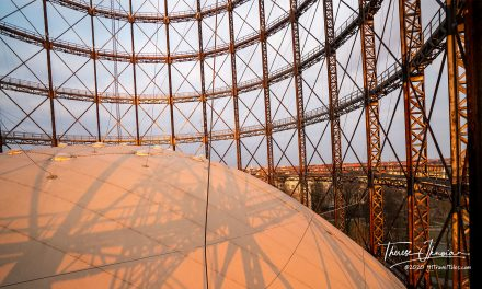 Climb the Berlin gasometer for the best sunset views of the city