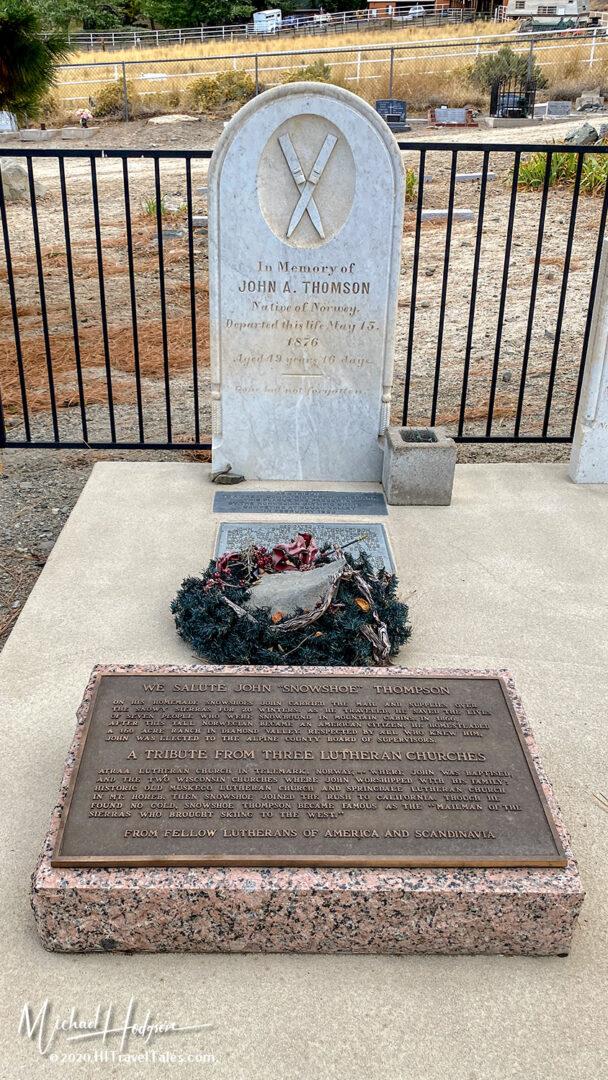 Genoa Cemetery Snowshoe Thompson