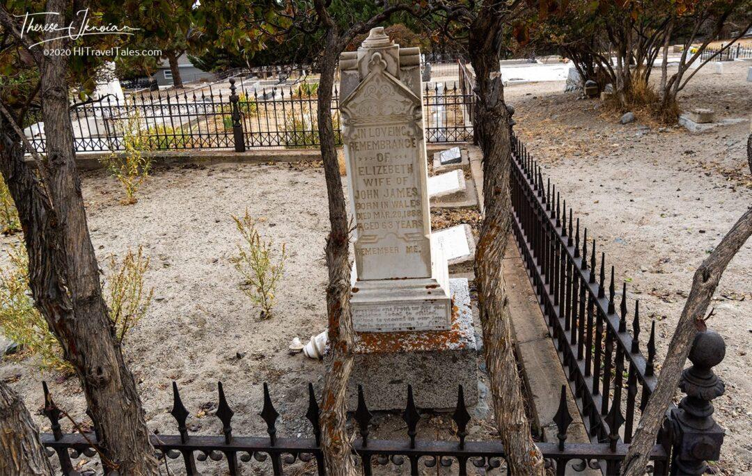 Genoa Cemetery Historic Marker