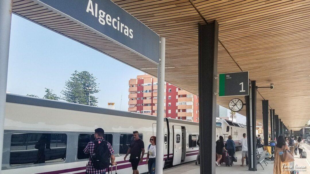 Get To Morocco Algeciras Station