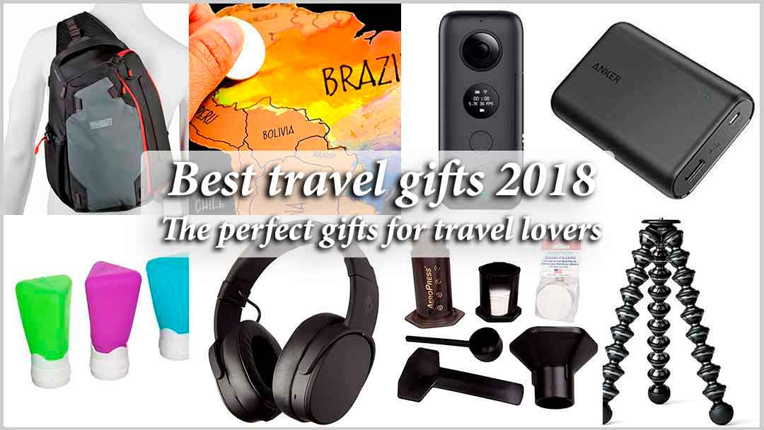 The best travel gifts for 2018-2019 – perfect gifts for travel lovers