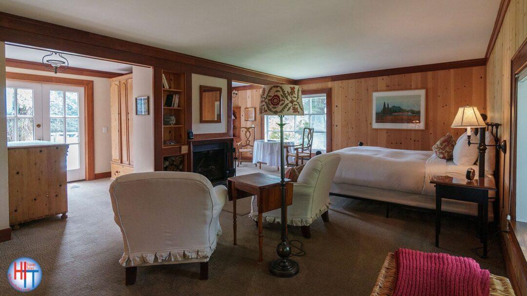 Glendeven Inn Mendocino Pinewood Room