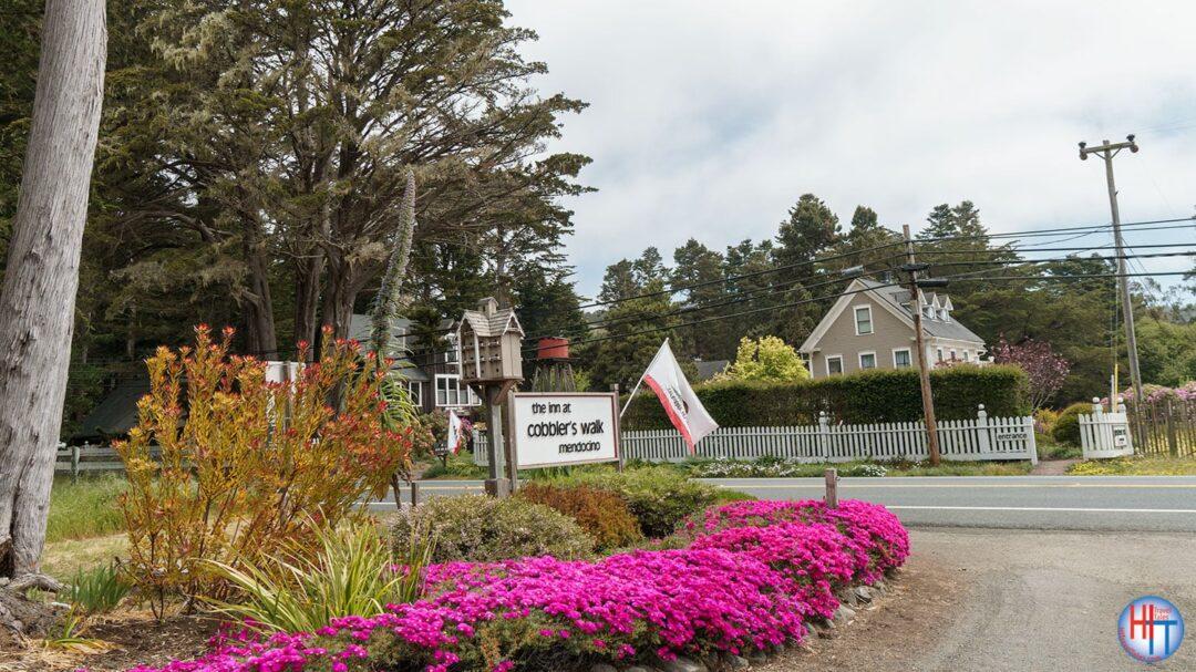 Glendeven Inn Property Mendocino Highway One