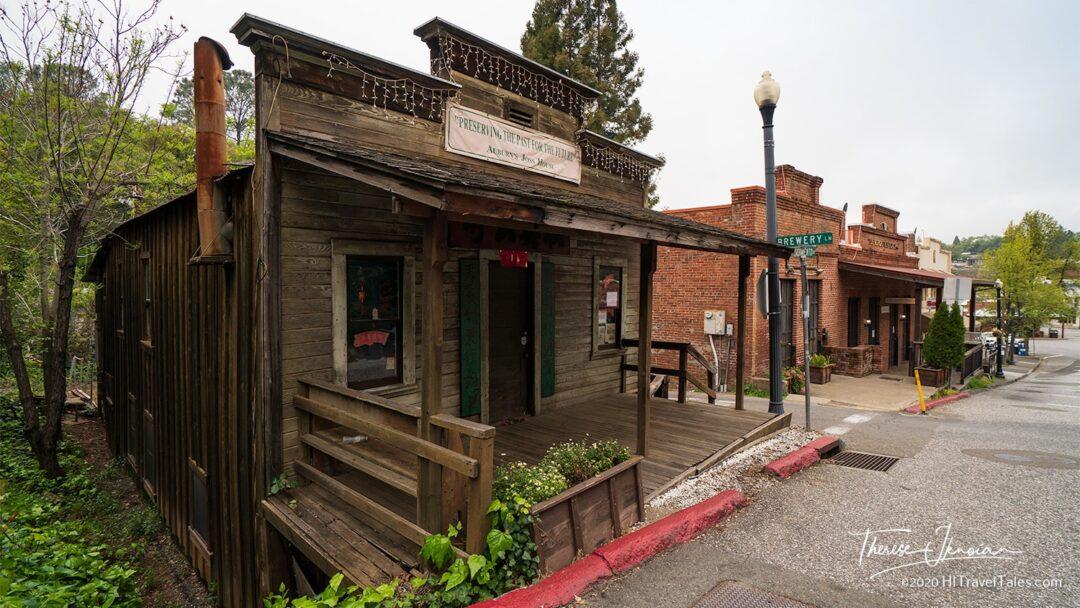 Gold Rush Town California Auburn