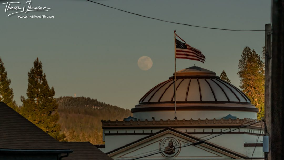Grass Valley Downtown Moon