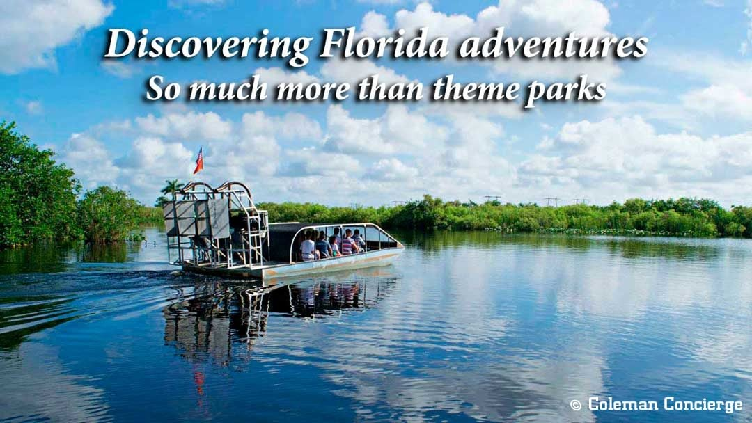 Florida adventures with an airboat heading out into the Everglades