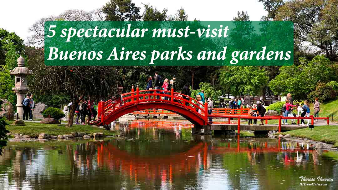 Buenos Aires parks include this amazing Japanese garden.