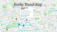 Map of Berlin by HI Travel Tales