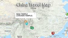 China Travel Map - our favorite destinations
