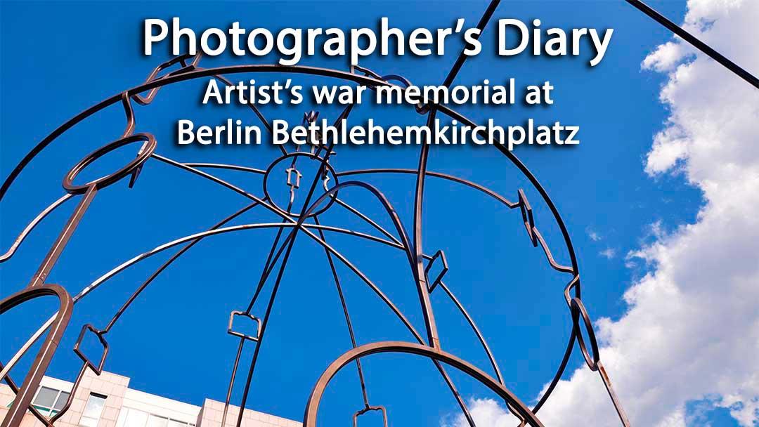 Artist's war memorial at Berlin Bethlehemkirchplatz