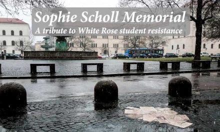 Sophie Scholl Memorial: tribute to White Rose student resistance