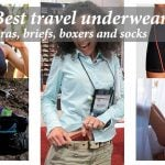 Best travel underwear – bras, briefs, boxers and socks