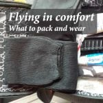 Flying in comfort: What to pack and wear