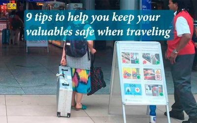 9 tips to help you keep your valuables safe when traveling
