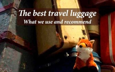 The Best Travel Luggage: What we use and recommend