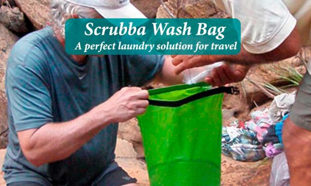 Scrubba Wash Bag perfect solution for travel