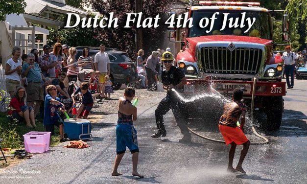 Dutch Flat 4th of July water hijinks and parade