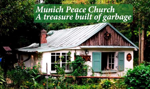 Munich Peace Church a treasure built of garbage