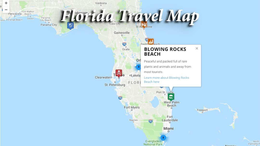 Florida Travel Map