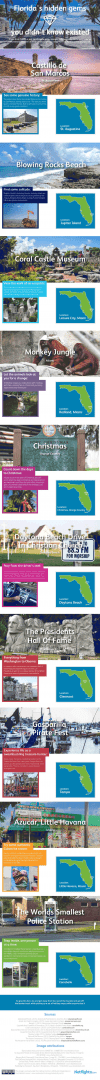 Floridas Hidden Gems Infographic